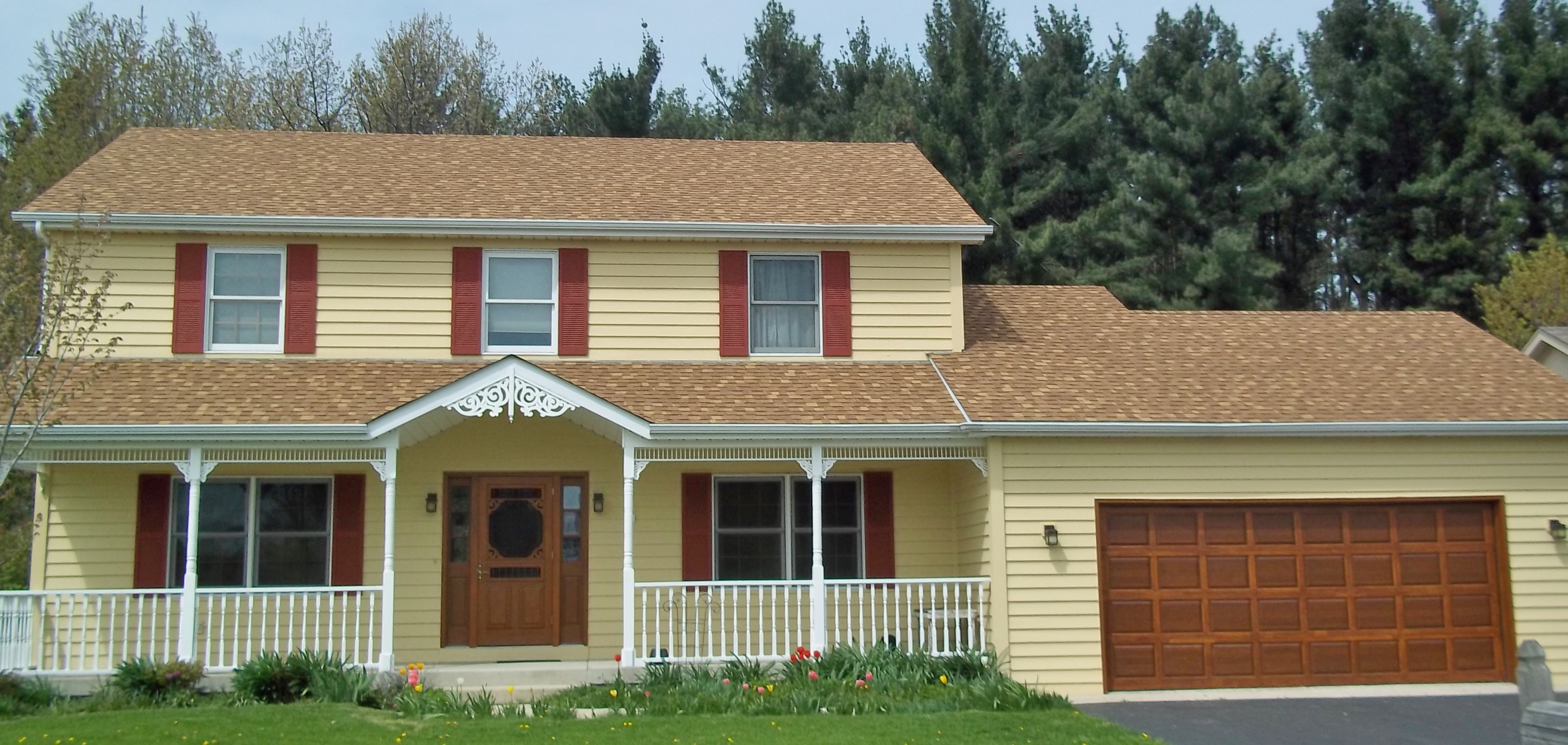 Matching your Roof Color with Your Siding